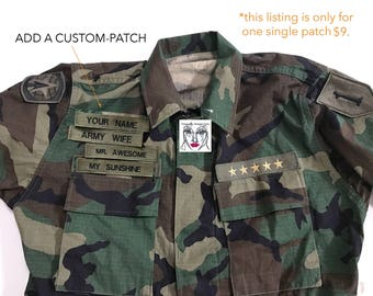 """Custom """"YOUR NAME"""" Embroidered Patch COLORFUL Put Your Name On It"""