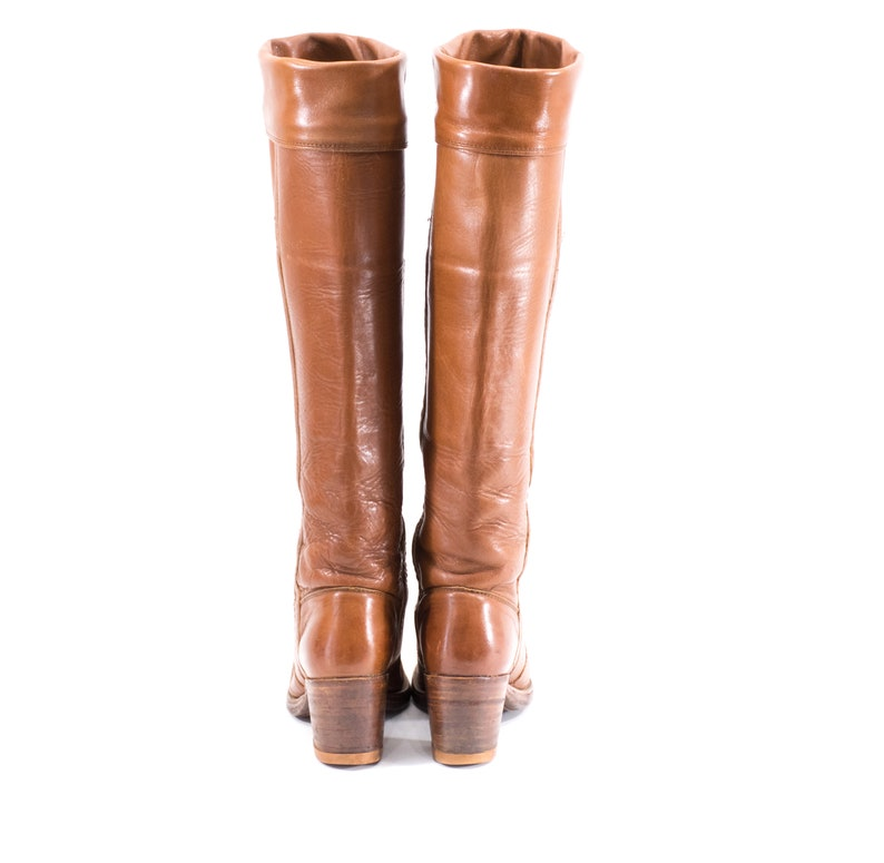 FRYE Boots Size 7 OTK Campus Tall Brown Over The Knee Boots Womens Size 7