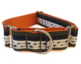 "Arrow Wide Dog Collar | 1.5"" Wide Quick Release Collar 