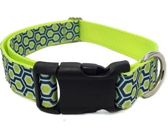 "1"" Honeycomb Large Dog Collar 