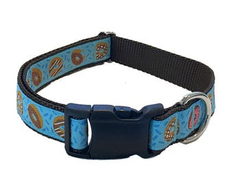 """1"""" Donuts Large Dog Collar 