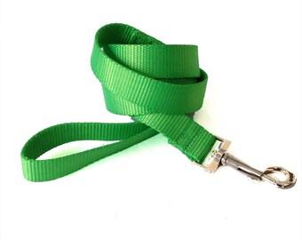 "Solid Color Nylon Large Dog Leash | 1"" Large Dog Leash"