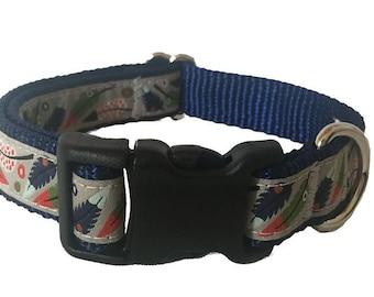 Feather Medium Dog Collar | Martingale Collar | Quick Release Collar | Dog Leash | Dog Harness | Adjustable Dog Collar