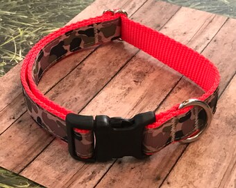 Camouflage Medium Dog Collar | Martingale Collar | Quick Release Collar | Dog Leash | Dog Harness | Adjustable Dog Collar