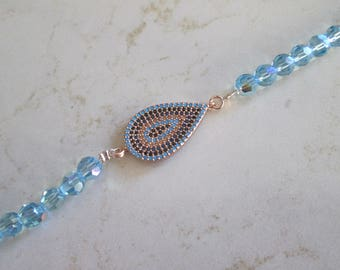 Evil Eye Swarovski Crystal Bracelet