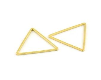 Arrowhead Charm Triangle Pendant Open Triangle Pendant PS01689 Wire Triangle Arrowhead Triangle Charm Sterling Silver Triangle