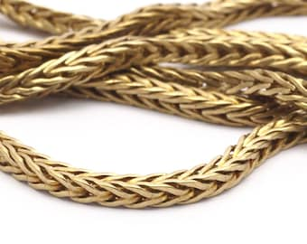 Brass Chain, 2M Raw Brass Square Chain (2.7mm) Bs 1370
