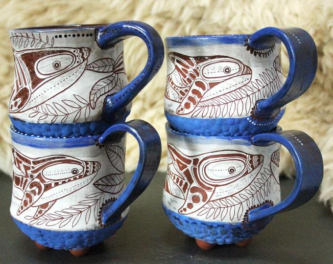 Custom Orca Mug, will ship in 6-8 weeks
