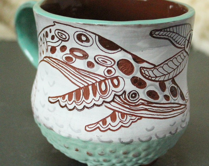 Custom Humpback Mug, will ship in 6-8 weeks