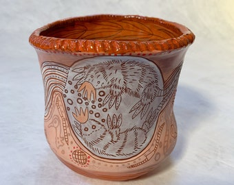Starry nosed mole vase