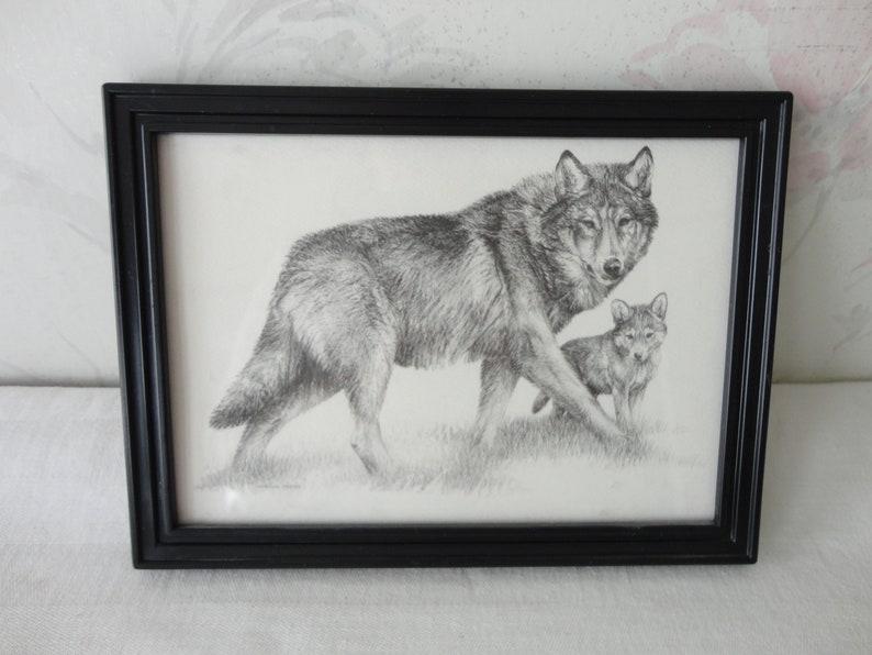 Animal Paw Print Pewter Pin Brooch British Hand Crafted Dog Fox Wolf Bear