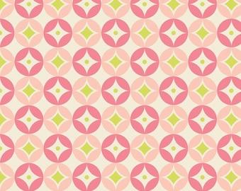 1 yard of Pink Diamonds Sweet Nothings fabric by Riley Blake