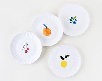 Fantastical Fruit 7.5 inch Melamine Plates by Misha Zadeh
