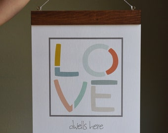 Love Dwells Here Poster