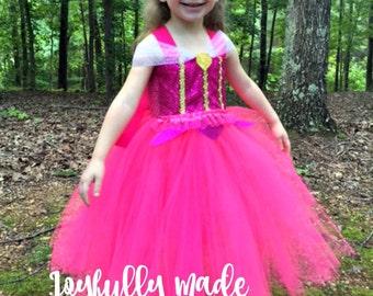 Aurora Tutu Dress - Aurora Costume - Aurora Dress - Sleeping Beauty Costume