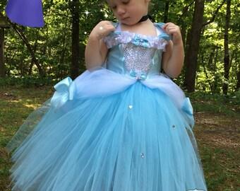 Cinderella Tutu Dress - Cinderella Costume - Cinderella Dress