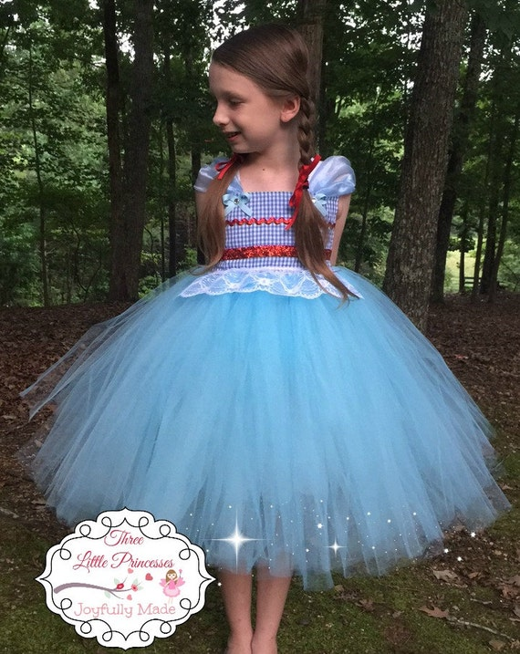 Wizard Of Oz Dorothy Tutu Dress