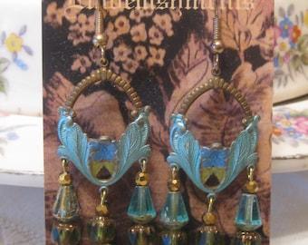 Art Nouveau Chandelier Earrings