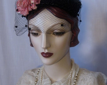 Restored 1950s Percher Hat