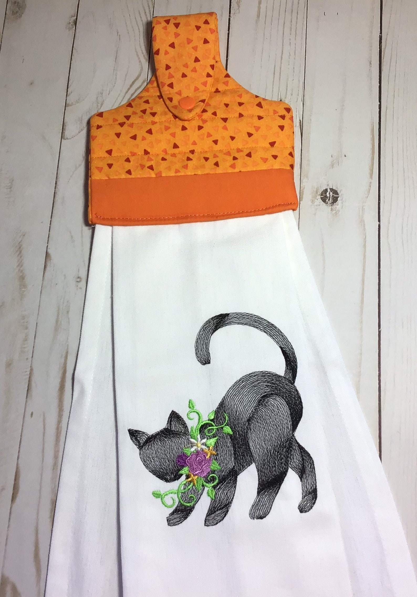 Halloween Cat Kitchen Towels Page Three