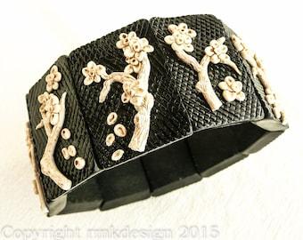 TUTORIAL: Faux Bakelite Tile Bracelet