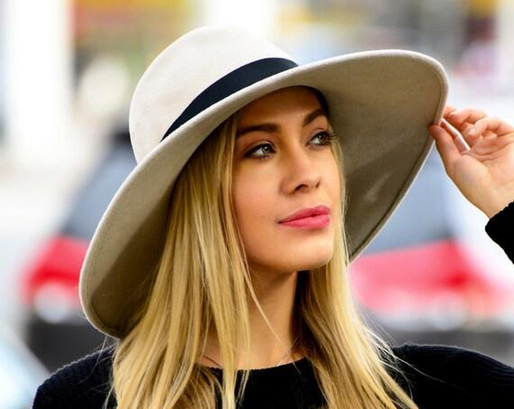 Wide Brimmed Fedora Hat Women's Hat Fall Fashion Fall Accessories Winter Accessories Fall Hat Dressy Hat Wide Brim Fashion Hat