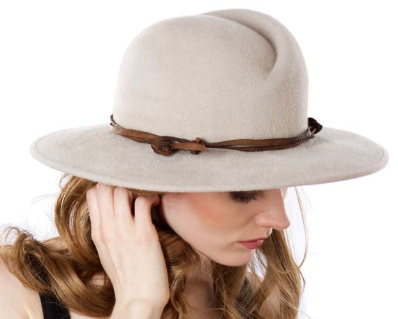 Wide Brimmed Hat Women's Hat Fall Fashion Fall Accessories Winter Accessories Women's Fedora Fall Hat Western Hat Urban Boho Chic Accessory