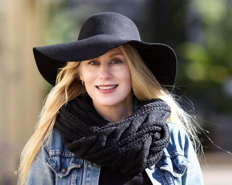 eb4133f81fb243 Boho Hat Wide Brimmed Floppy Women's Hat Fall Hat | Etsy
