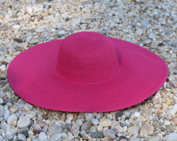 Giant Brim Hat Straw Hat Women s Hat Floppy Beach Hat  811dd353bbd