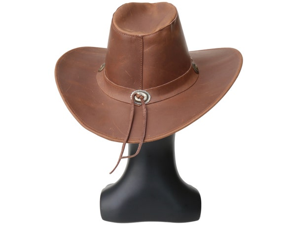 Spring Accessory Men/'s Cowboy Hat Women/'s Cowboy Rodeo Hat Rancher/'s Hat Leather Cowboy Hat Western Leather Hat Urban Cowboy Hat