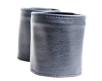 Cuff Wallet, Boho Black Leather Bracelet, Wrist Wallet, Travel Wallet, Arm Wallet, Music Festival Bracelet, Coin Wallet, Men's Wallet