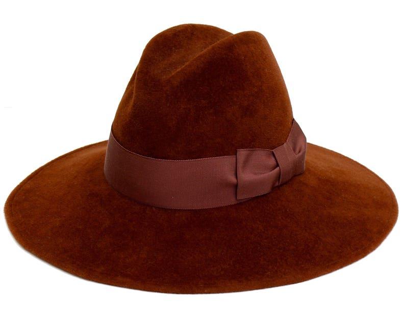 275669b871c Fedora Hat Tall Crown Fedora Fall Accessories Women s Hat