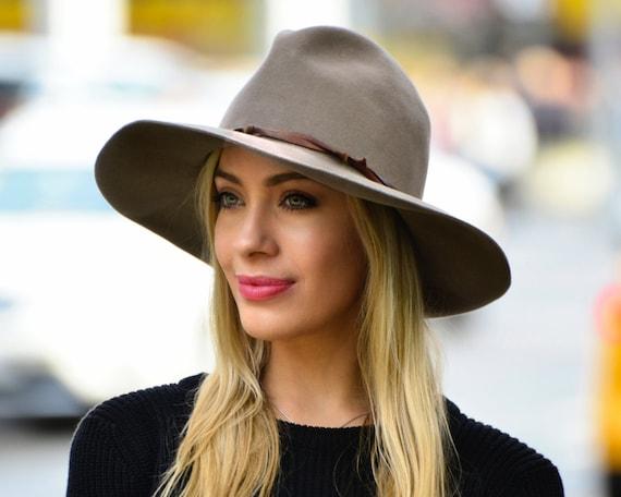 Cowboy Hat Women Western Hat Rancher's Hat Women's   Etsy