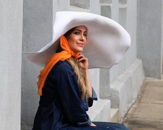 Giant Sun Hat, Oversized Women's Straw Hat, Wide Brim Hat, Spring Fashion, Resort Wear, Boho Hat, Festival Fashion, Beach Hat, Travel Hat
