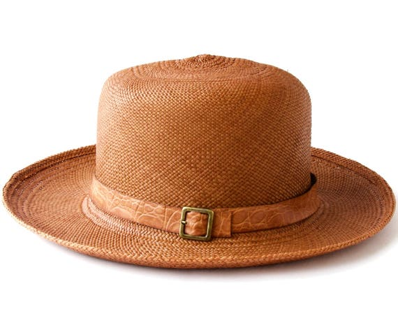 Straw Hat Panama Hat Spring Fashion Sun Hat Spring Accessories Optimo Hat Handwoven Hat Natural Straw Hat Tropical Hat Summer Hat Women's