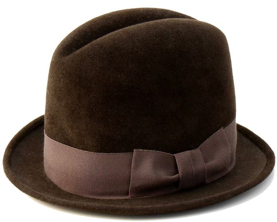 Men's Homburg Hat Bowler Hat Fall Fashion Tall Hat Top Hat Fall Accessories Men's Accessories Men's Dress Hat Formal Men's Hat Gift For Men