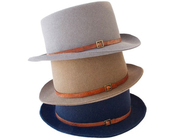 Gaucho Hat Fall Fashion Men's Accessories Felt Boater Hat Canotiers Hat Bolero Hat Trilby Hat Men's Hat 1940s Hat Dress Hat Top Hat