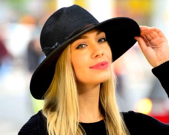 Straw Fedora Hat- Noho