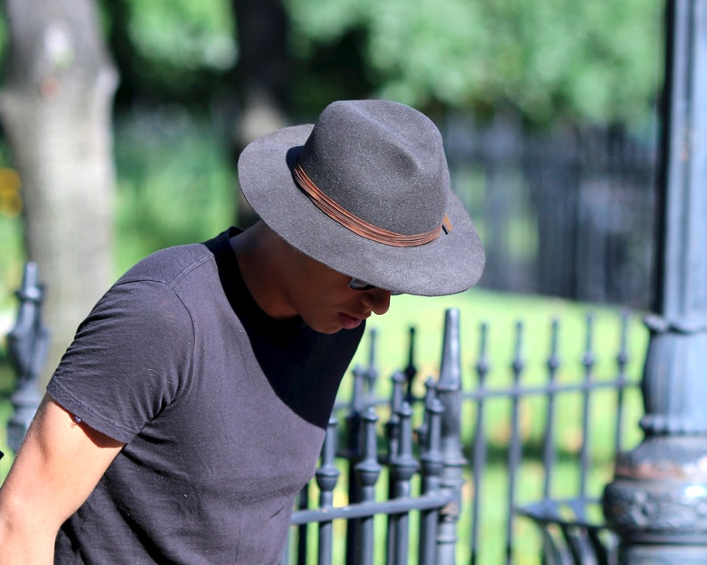 22509545ade76 Women's Hats Fedora Hat Men's Fedora Men's Felt   Etsy