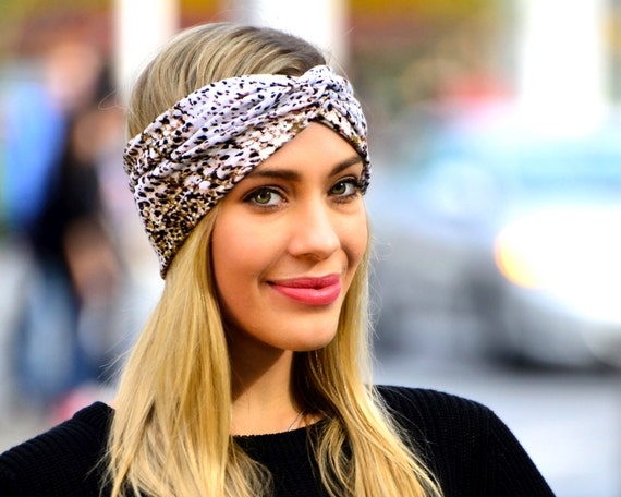 Women s Leopard Headband Turban Animal Print Cheetah Print  97825064177
