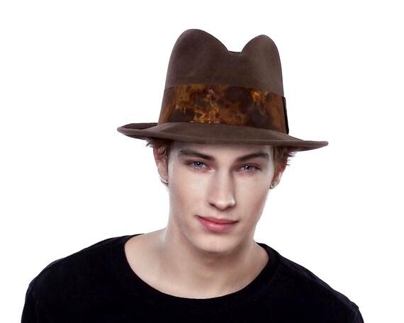 Men's Spring Hat 1930s Men's Hat 1940s Men's Hat 1950s Men's Hat Men's Accessories Dress Hat Spring Fashion Spring Accessories Men's Fedora