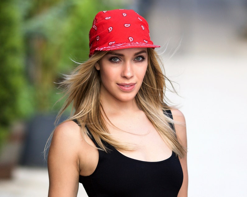 1b8824f04c326 Visor For Women Summer Sun-visor American Boho Fashion Paisley