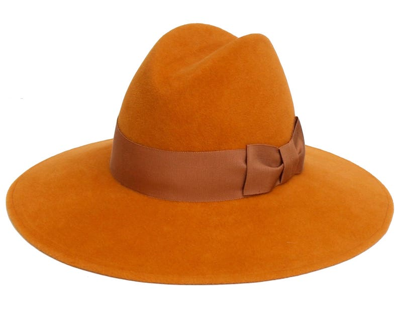 Women s Fedora Hat Women s Hat Autumn Maple Color Fall  d587565eda88