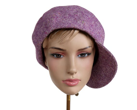 Women's Newsboy Hat Beret Hat 8 Piece 1960s Newsboy Baker Boy Cap 1940s Hat 1970s Hat Apple Cap Beret Cap Wool Fabric Hat