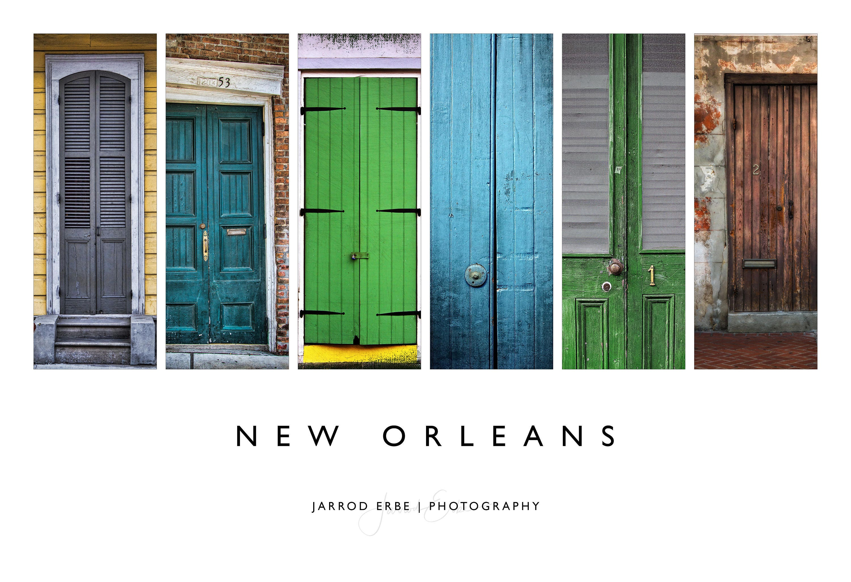 Nola Doors Poster New Orleans Wall Art Home Decor Etsy