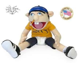 The  Original Jeffy Jeffy Puppet from Youtube movies. Made in the USA.