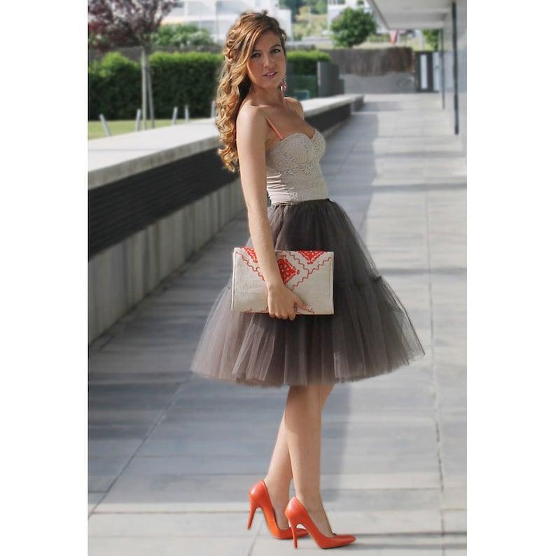 Miss Roxie/'s Level 2 Pettiskirt ~ Tiered tutu petticoat ~ soft tulle with elastic waist