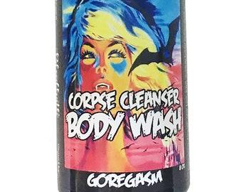 Goregasm Body Wash Corpse Cleanser Horror Bath Sulfate Free