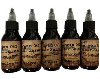 Argan Oil Hair Shine Perfume Serum