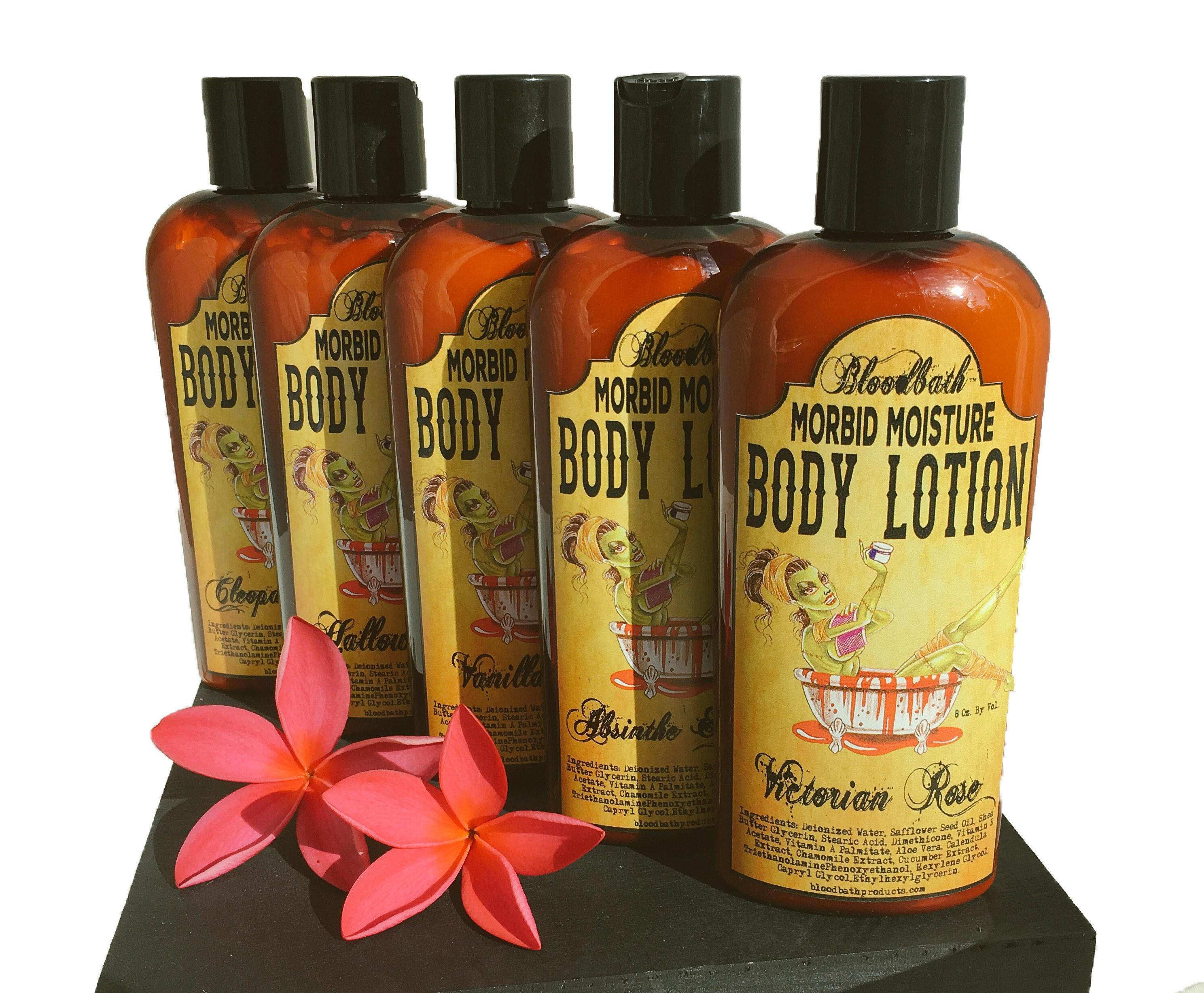 Hallows Eve Vegan Body Lotion Morbid Moisture Lotion Organic